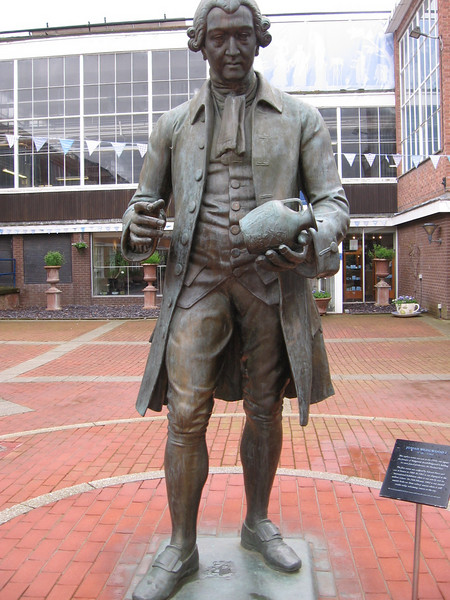 Statue of Josiah Wedgwood, Barlaston