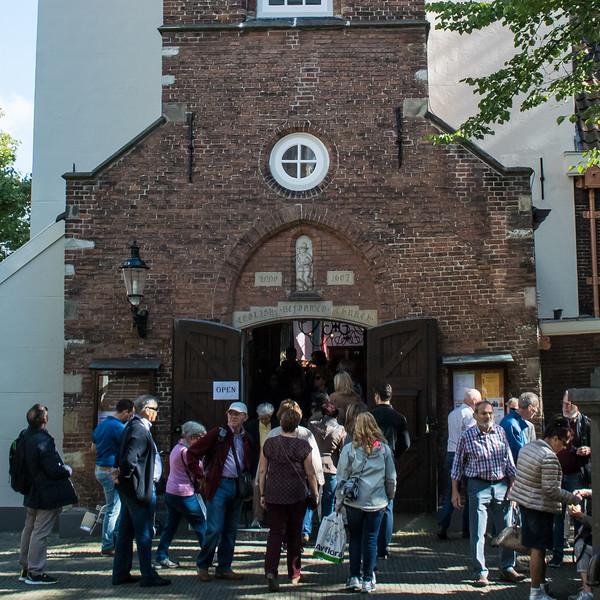Begijnhof medieval courtyard