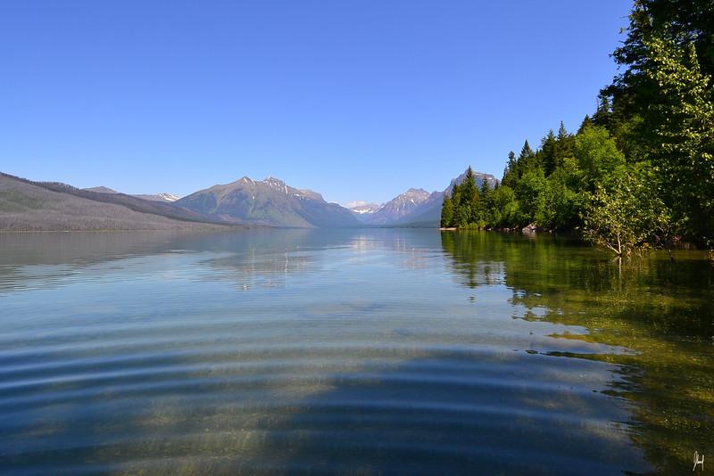 Lake McDonald Glacier National Park, Montana