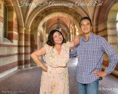 Arlie & Ed 25th Anniversary
