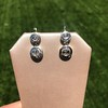.85ctw Antique Table Cut Diamond Double Drop Earrings 9