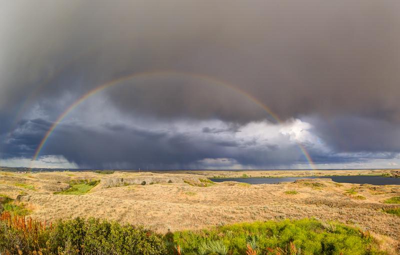 Rainbow Near Prague, WA