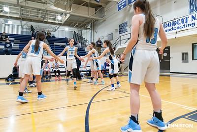 3-4-19 Garber Girls Varsity Basketball Districts