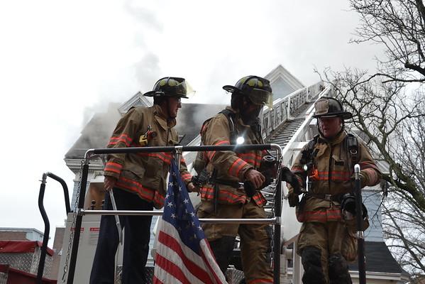 3rd Alarm 190 Chestnut Street, Holyoke , MA 12/27/15