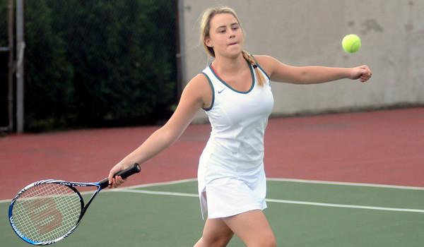 2012 BBA JV Girls Tennis vs Rutland photos by Gary Baker