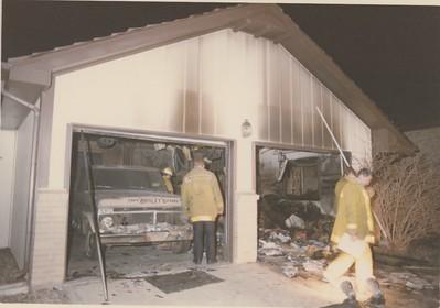 6367 S. Wolfe Court Garage Fire