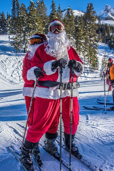 Santa Claus at CBMR