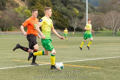 Aug 20 - Football - Lower Hutt v Upper Hutt