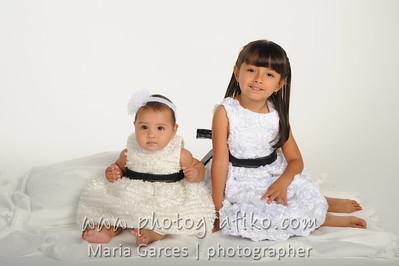 Isabella & sister