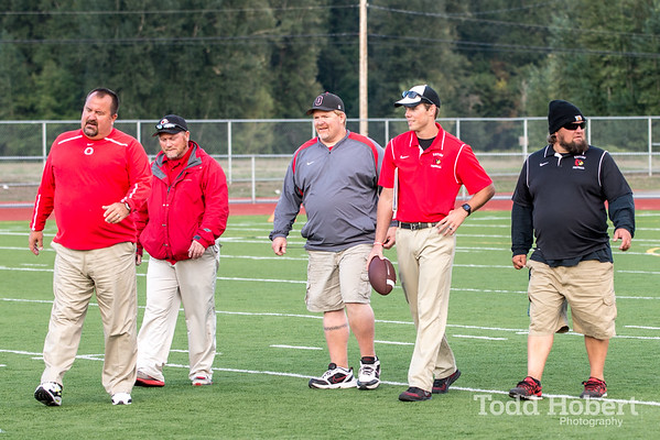 Orting Football Vs Eatonville 2015