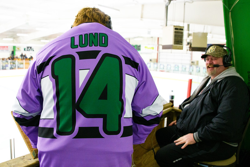 LDC Boys Hockey Fights Cancer Night vs Delano Tigers