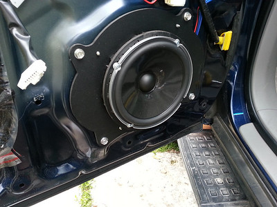 2006 Toyota 4Runner Limited With JBL OEM System Front Door Speaker and Tweeter Installation - USA