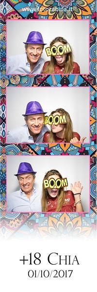 Chiara festa di compleanno con photobooth fotocabina  - 18 anni
