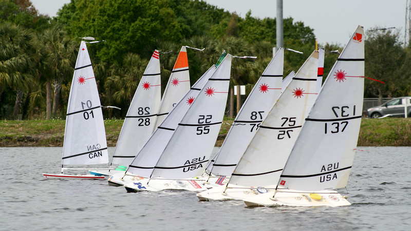 2016 RC Laser Snowbird Tune Up Regatta