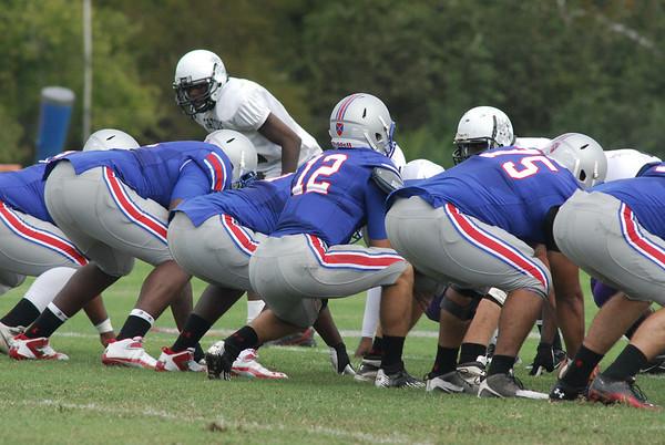 PG Football vs. Hampton Community College