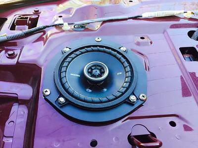 2003 Honda Civic LX Sedan Rear Deck Speaker Installation - USA