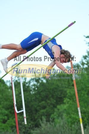 Boy's Pole Vault - 2012 Oakland County Track Meet