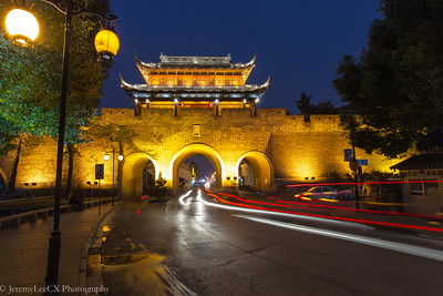 Night Walk at Suzhou Old Town