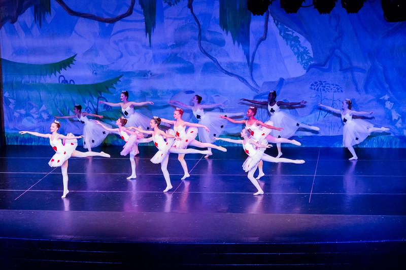 Fairfax Ballet Alice in Wonderland Performance May 2015