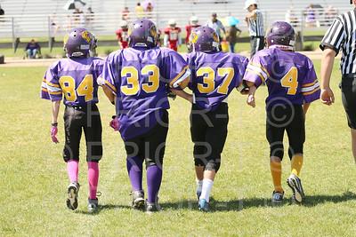 September 13, 2014 5th Grade YAFL Bayfield Wolverines vs Shiprock Lil Chiefs