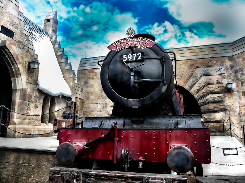 Hogwarts Express, Universal Studios Islands of Adventure - Orlando, Florida