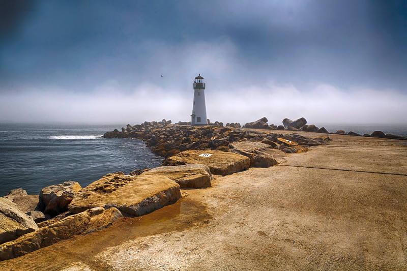 Santa Cruz Harbor Lighthouse