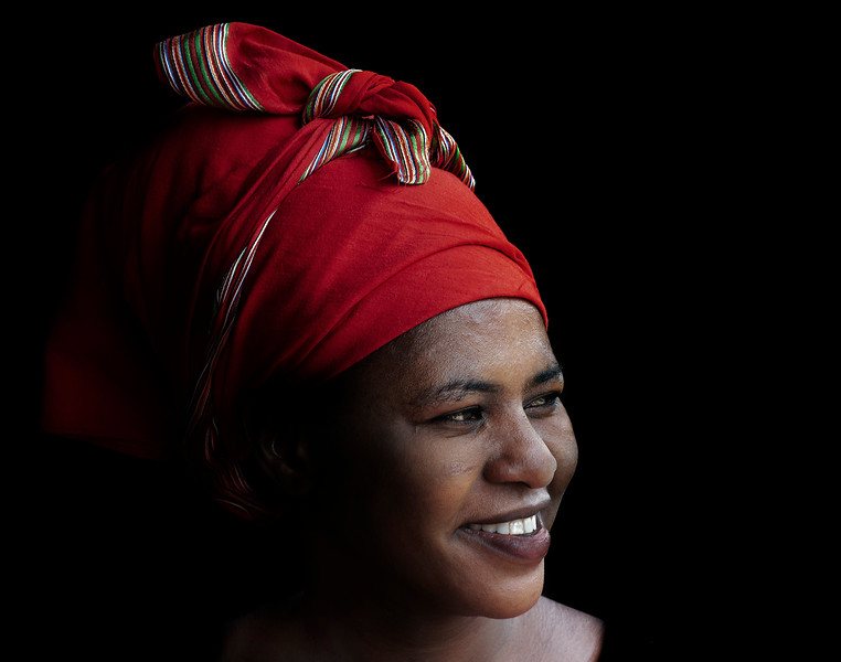 Portrait of a Tanzanian woman.  Tanzania, 2019.