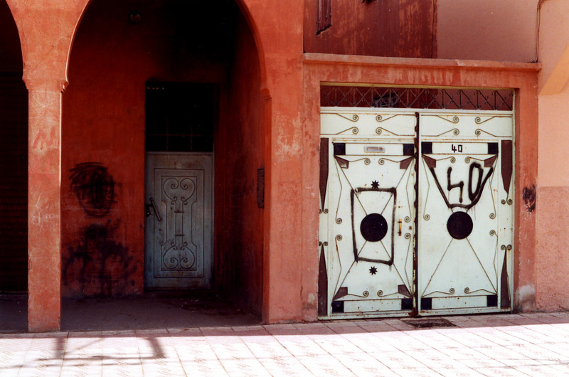Address number in Marrakesh, Morocco