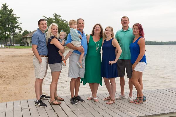 Boyne Beach House Restaurant Deer Lake family photography