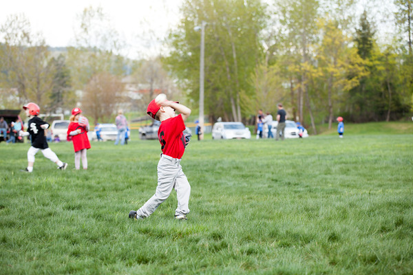 St. Maries Little League {Reds T-Ball}
