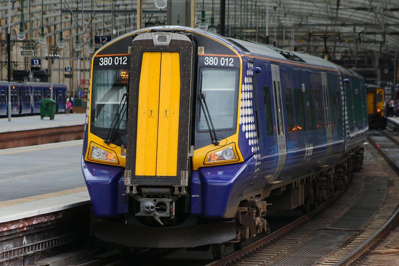 380012 Glasgow Central (High Level) Glasgow 08/07/2014