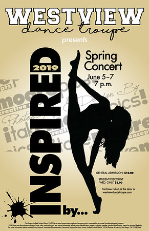 """""""INSPIRED by..."""" Spring Concert 2019"""