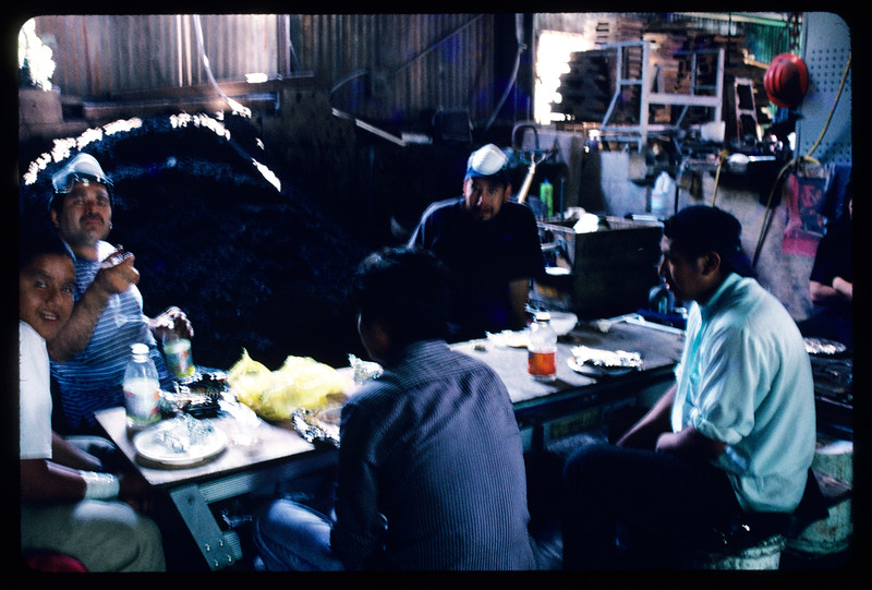 Alphacast Foundry, Inc. at lunchtime, Los Angeles, 2004