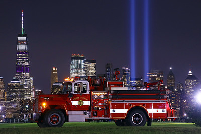 9-11 Tribute  Tower of Light & Apparatus