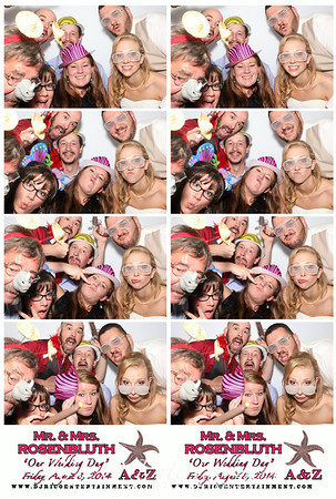 8-8-14 - Alyssa & Zach Wedding Photobooth