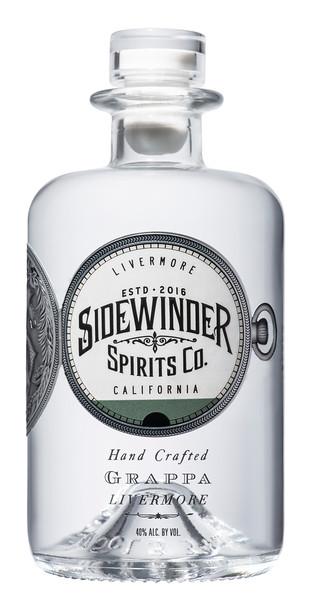 Sidewinder Grappa and Eau de Vie de Vin