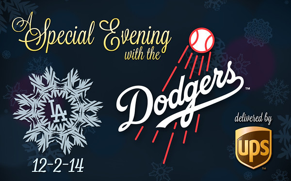 Dodgers evening with UPS 120214