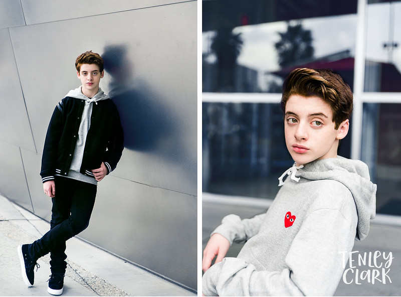 Thomas Barbusca editorial photography shoot for Halcyon Magazine cover. Photography by Tenley Clark Photography. Styled by Veronica Alvericci. Styling assistant Greg Harper.