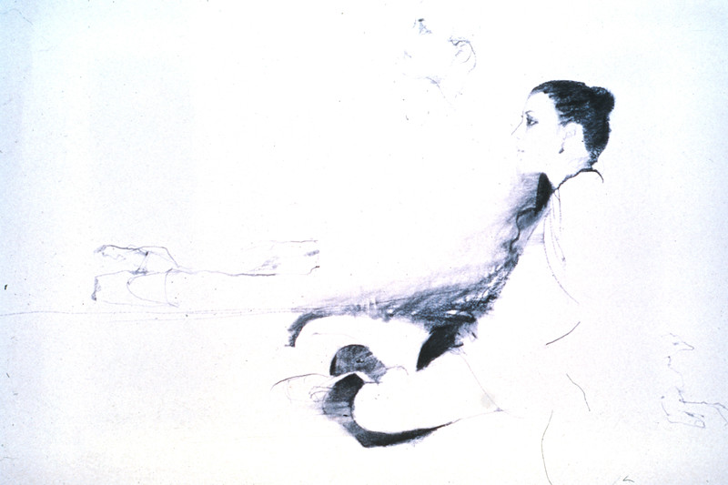 Study for 'Dancer Waiting' (c1980s)