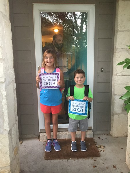 Madison and Ethan | 5th and 1st | Block House Creek Elementary School