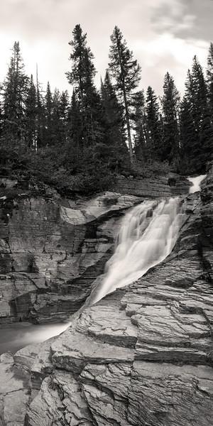 Falls at Many Glacier