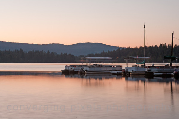 Sunrise at Lake Siskiyou.  7183