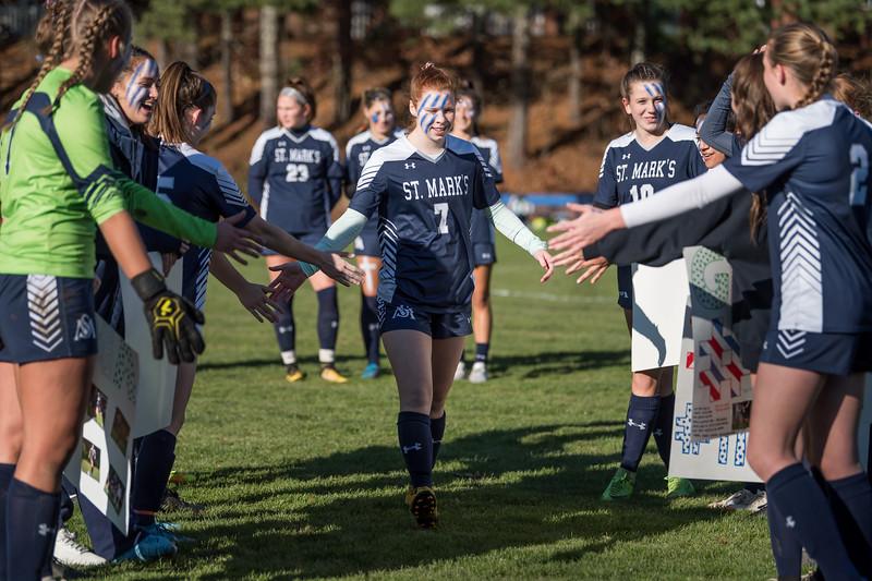 Girls' Varsity Soccer Senior Game 11.9.19