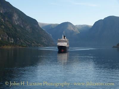 Sognefjord - Aurlandsfjord