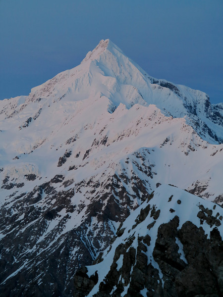 Mt Sefton and the Footstool at dawn