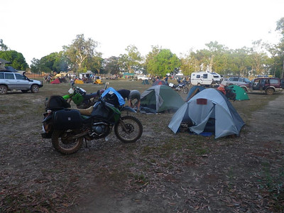 Bikes at the OCR 2012