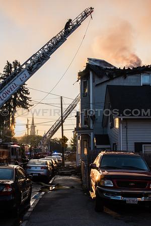 Lowell, MA 4th Alarm - 138 Cross St - 7/23/16