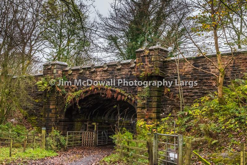 The Old Bridge Castle empe Scotland.