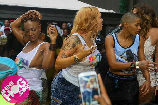 8.30.14 Atlanta WETher! Celebrity BLOCK PARTY @ CLUB OPERA (Erica Mena, Gocha, Mimi Faust)