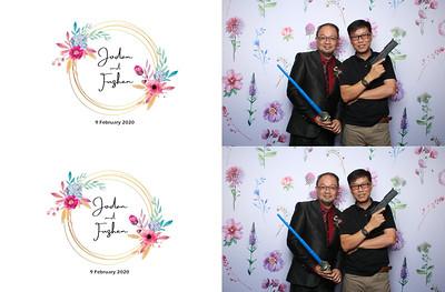 Jodan & FuZhen 9 Feb 2020 Photobooth Album